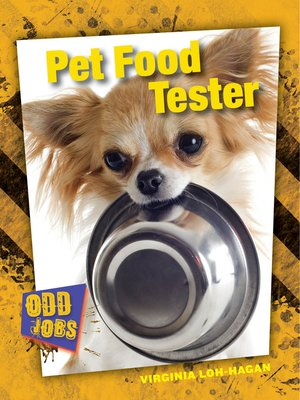 cover image of Pet Food Tester