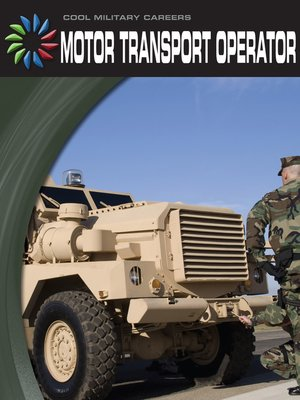 cover image of Motor Transport Operator