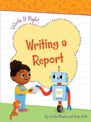 cover image of Writing a Report