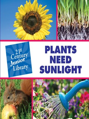 cover image of Plants Need Sunlight