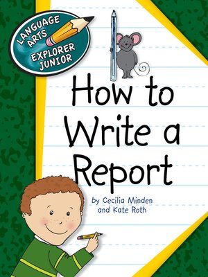 cover image of How to Write a Report