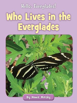 cover image of Who Lives in the Everglades