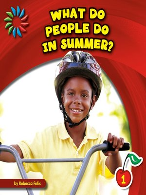 cover image of What Do People Do in Summer?