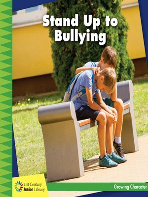 cover image of Stand Up to Bullying