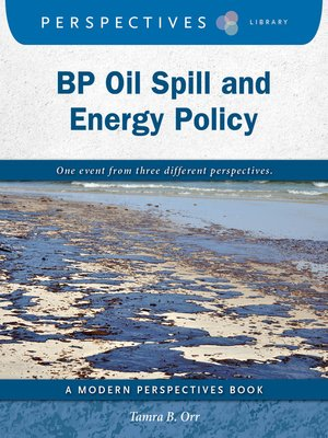 cover image of BP Oil Spill and Energy Policy