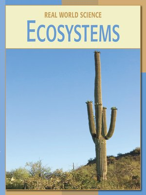 cover image of Ecosystems