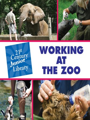 cover image of Working at the Zoo