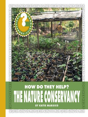 cover image of The Nature Conservancy