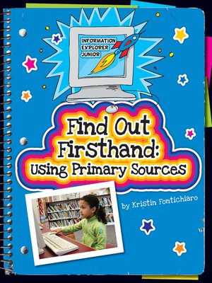 cover image of Find Out Firsthand