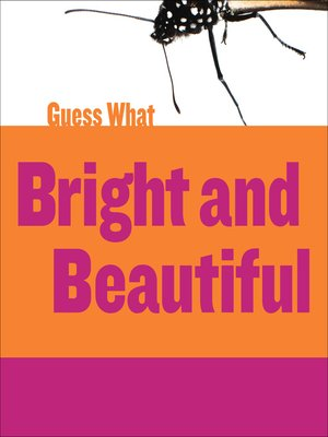 cover image of Bright and Beautiful