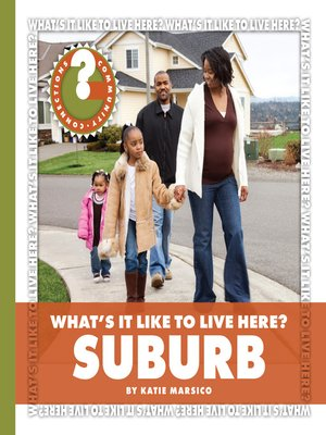 cover image of What's It Like to Live Here? Suburb