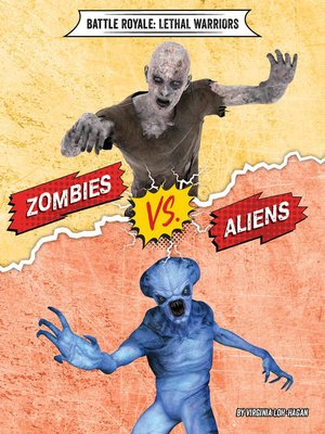 cover image of Zombies vs. Aliens