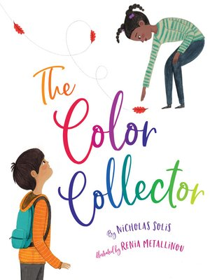 cover image of The Color Collector