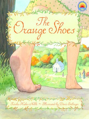 cover image of The Orange Shoes