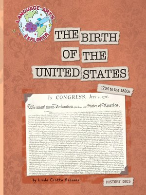 cover image of The Birth of the United States