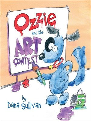 cover image of Ozzie and the Art Contest