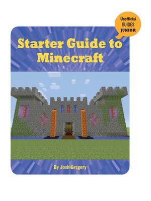 cover image of Starter Guide to Minecraft