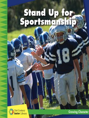 cover image of Stand Up for Sportsmanship