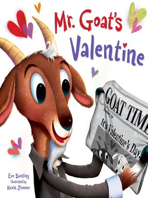 cover image of Mr. Goat's Valentine