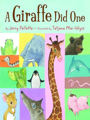 cover image of A Giraffe Did One