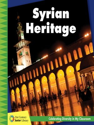 cover image of Syrian Heritage