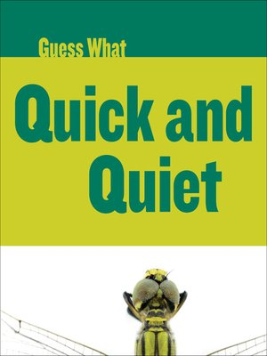 cover image of Quick and Quiet