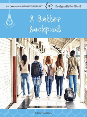 cover image of A Better Backpack