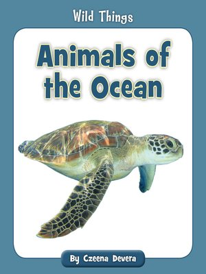 cover image of Animals of the Ocean