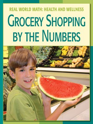 cover image of Grocery Shopping by the Numbers