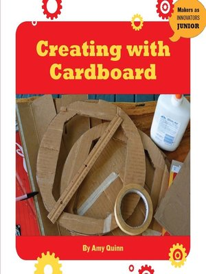 cover image of Creating with Cardboard
