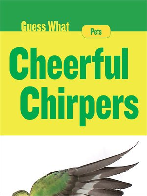 cover image of Cheerful Chirpers