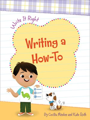 cover image of Writing a How-To