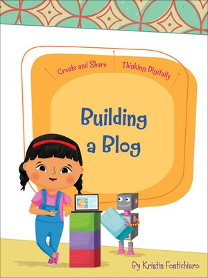 cover image of Building a Blog