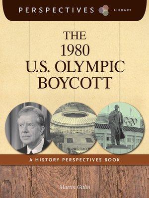 cover image of The 1980 U.S. Olympic Boycott