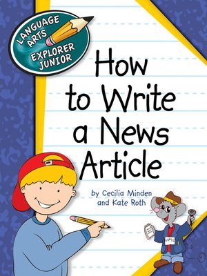 cover image of How to Write a News Article