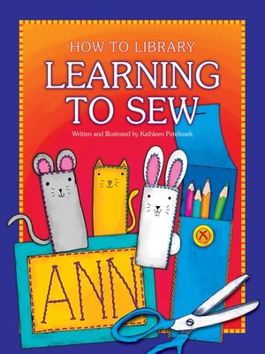 cover image of Learning to Sew