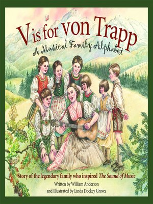 cover image of V is for Von Trapp