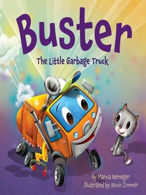 cover image of Buster the Little Garbage Truck