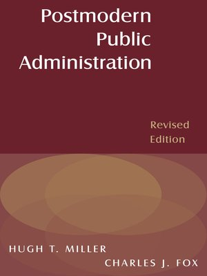 cover image of Postmodern Public Administration