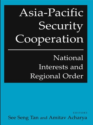cover image of Asia-Pacific Security Cooperation