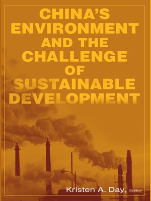 cover image of China's Environment and the Challenge of Sustainable Development