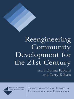 cover image of Reengineering Community Development for the 21st Century