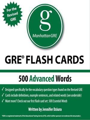 Manhattan Gre 500 Essential Words Pdf