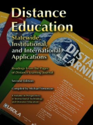 cover image of Distance Education
