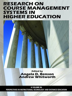 cover image of Research on Course Management Systems in Higher Education