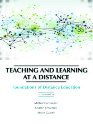 cover image of Teaching and Learning at a Distance