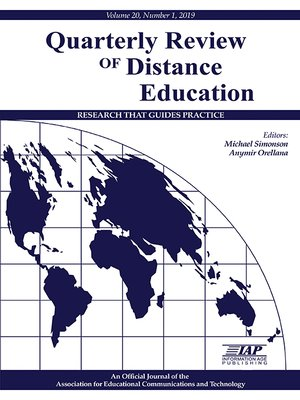 cover image of Quarterly Review of Distance Education, Volume 20, Number 1