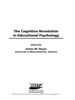 cover image of The Cognitive Revolution on Educational Psychology