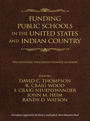 cover image of Funding Public Schools in the United States and Indian Country