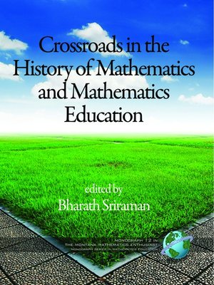 cover image of Crossroads in the History of Mathematics and Mathematics Education